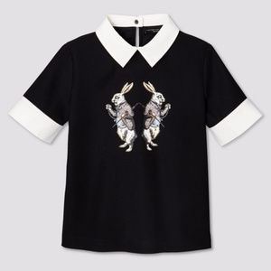 VICTORIA BECKHAM | target bunny collared top